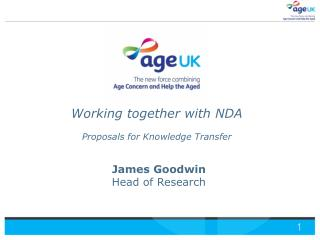 James Goodwin Head of Research