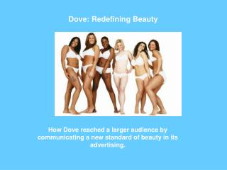 Dove: Redefining Beauty