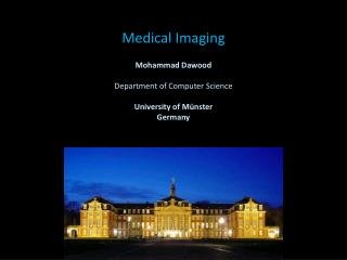 Medical Imaging