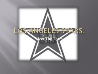 Los Angeles Stars: