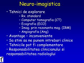 Neuro-imagistica