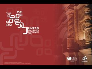 Juntas Nacionales COPARMEX 2010