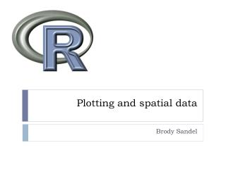 Plotting and spatial data