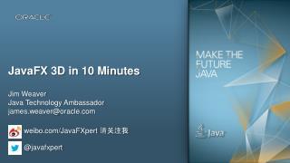 JavaFX 3D in 10 Minutes