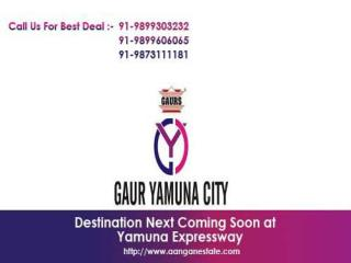 Description Your Dream Home is within  GaurSons Group.Call  for New Price List at  91-9899303232