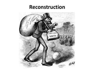 what is freedom reconstruction 1865 1877 Reconstruction: 1865–1877  reconstruction was a significant chapter in the  history of civil rights in the united states, but most  adopted between 1865 and  1870, the five years immediately following the civil war  the system of  sharecropping allowed blacks a considerable amount of freedom as compared to  slavery.