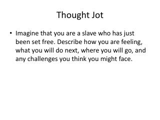 Thought Jot