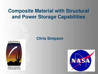 Composite Material with Structural and Power Storage Capabilities