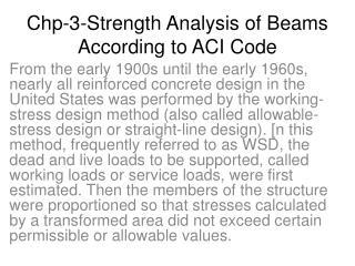 Chp-3-Strength Analysis of Beams According to ACI Code