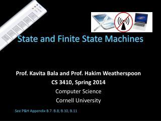 State and Finite State Machines