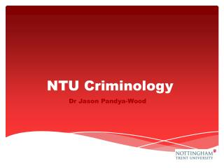 NTU Criminology