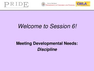 Welcome to Session 6!