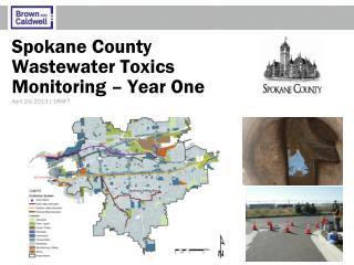 Spokane County Wastewater Toxics  Monitoring – Year One
