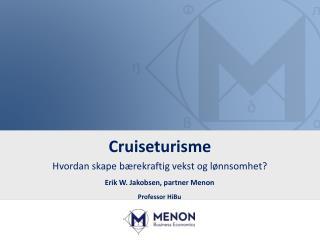 Cruiseturisme