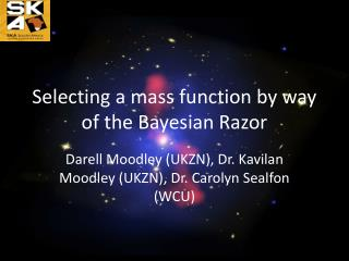 Selecting a mass function by way of the Bayesian Razor