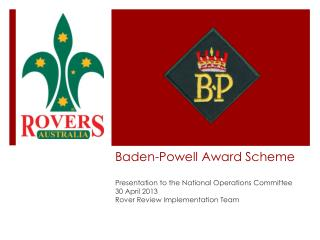Baden-Powell Award Scheme