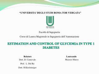 """""""UNIVERSITA '  DEGLI STUDI ROMA TOR VERGATA"""""""