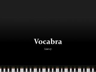 Vocabra