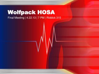 Wolfpack HOSA