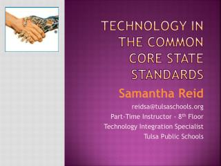 Technology in the Common Core State Standards