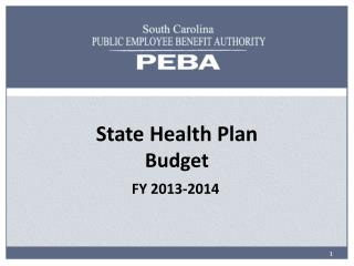 State Health Plan Budget
