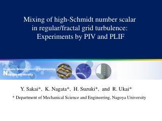 Y. Sakai*,  K. Nagata*,  H. Suzuki*,  and  R. Ukai*