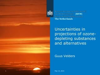 Uncertainties in projections of ozone-depleting substances and alternatives