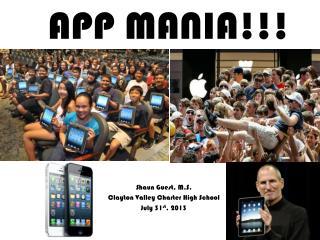 APP MANIA!!!