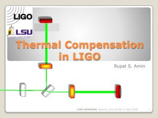 Thermal Compensation in LIGO