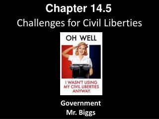 Challenges for Civil Liberties
