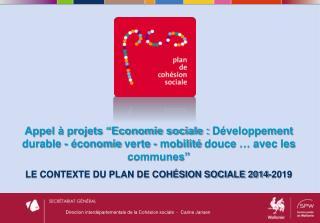 Direction interdépartementale de la Cohésion  sociale  -  Carine Jansen