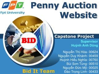 Penny Auction Website