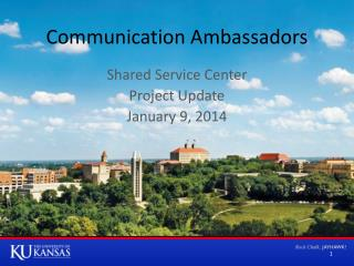 Communication Ambassadors