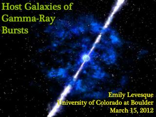 Host Galaxies of Gamma-Ray Bursts