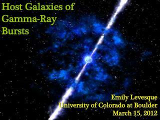 Host Galaxies of Gamma-Ray Bursts