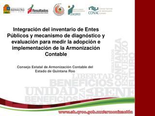 Consejo Estatal de Armonización Contable del Estado de Quintana Roo