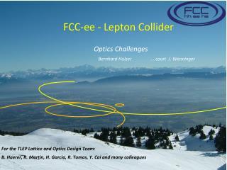 FCC- ee  - Lepton Collider