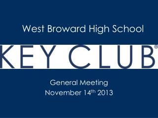 West Broward High School