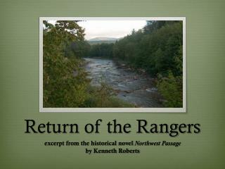 Return of the Rangers