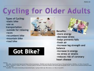 Cycling for Older Adults