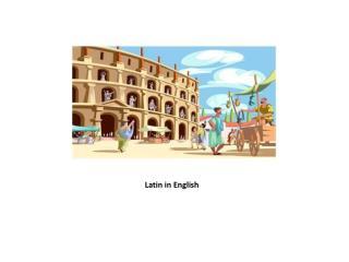 Latin  in  English