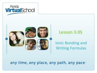 Lesson 3.05