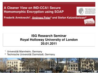 A  Cleaner View  on IND-CCA1  Secure Homomorphic Encryption using  SOAP