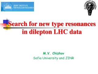 Search for new type resonances i n  dilepton  LHC data