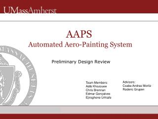 AAPS� Automated Aero-Painting System