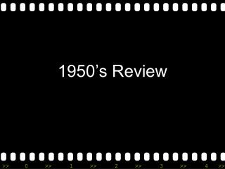 1950's Review