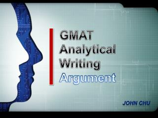 GMAT Analytical Writing Argument