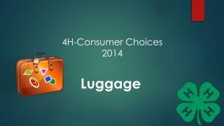 4H-Consumer Choices 2014