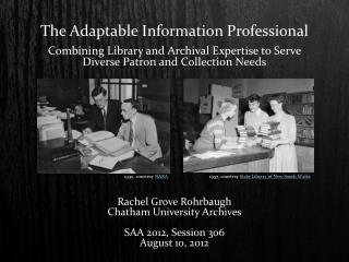 The  Adaptable Information  Professional