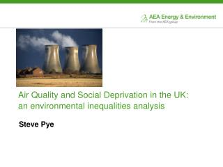 Air Quality and Social Deprivation in the UK:  an environmental inequalities analysis